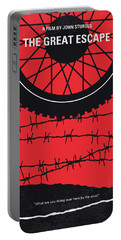 No958 My The Great Escape Minimal Movie Poster Portable Battery Charger