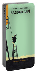 No964 My Bagdad Cafe Minimal Movie Poster Portable Battery Charger