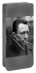 Nobel Prize Winning Writer Albert Camus Unknown Date #1 -2015 Portable Battery Charger