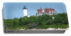 Nobska Point Lighthouse Portable Battery Charger