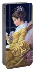 Nocturne Inspired By Fragonard Portable Battery Charger