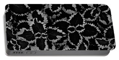 Noir Brocade Portable Battery Charger by Tim Good
