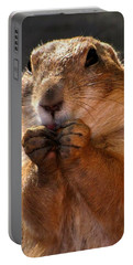 Snacking Prairie Dog Portable Battery Charger