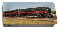 Portable Battery Charger featuring the photograph Norfolk And Western J-class 611 by John Black