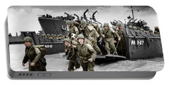 Normandy Landings Portable Battery Charger