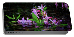 Portable Battery Charger featuring the photograph Norris Lake Floral by Douglas Stucky
