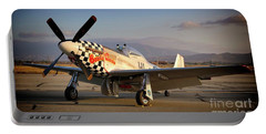 North American P-51d Mustang Buzzin Cousin Portable Battery Charger