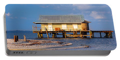 North Captiva Island Last Stilt House Standing Portable Battery Charger