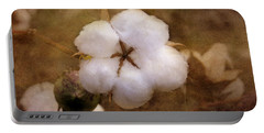 North Carolina Cotton Boll Portable Battery Charger