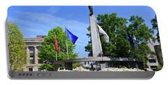 North Carolina Veterans Monument Portable Battery Charger