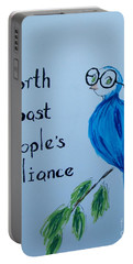 North Coast People's Alliance With Bernie Portable Battery Charger