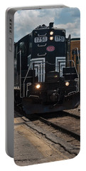 Conway Scenic Railroad - New Hampshire Portable Battery Charger by Suzanne Gaff
