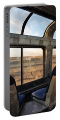 North Dakota Great Plains Observation Deck Portable Battery Charger by Kyle Hanson