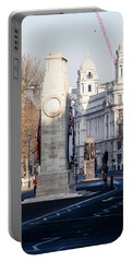 North Facade Of Cenotaph War Memorial Whitehall London Portable Battery Charger