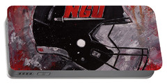 North Greenville University Football Helmet Wall Art Painting Portable Battery Charger