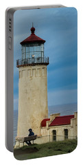 Portable Battery Charger featuring the photograph North Head Lighthouse by E Faithe Lester