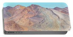 Portable Battery Charger featuring the photograph North Of Avawatz Mountain by Jim Thompson