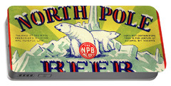 North Pole Beer Portable Battery Charger