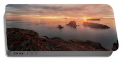 North Puget Sound Sunset Portable Battery Charger