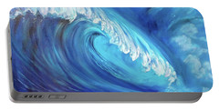 North Shore Wave Oahu 2 Portable Battery Charger by Jenny Lee