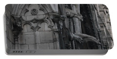 North Side Notre Dame Cathedral Portable Battery Charger