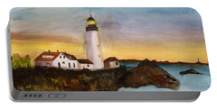 North Truro Light House Cape Cod Portable Battery Charger