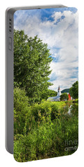 North Tunbridge Summer Day Portable Battery Charger by Alan L Graham