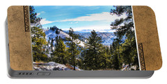 Portable Battery Charger featuring the photograph North View by Susan Kinney