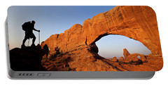 North Window Arch Portable Battery Charger