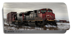Portable Battery Charger featuring the photograph Northbound Double Stack by Brad Allen Fine Art