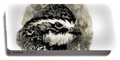 Northern Bobwhite Portable Battery Charger