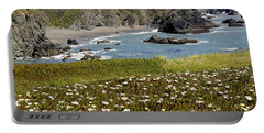 Northern California Coast Scene Portable Battery Charger by Mick Anderson