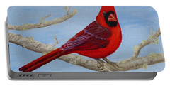 Northern Cardinal 2 Portable Battery Charger