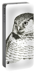 Northern Hawk-owl Portable Battery Charger