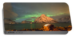 Spectacular Night In Lofoten 3 Portable Battery Charger