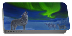 Northern Lights Night Portable Battery Charger
