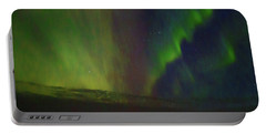Northern Lights Or Auora Borealis Portable Battery Charger