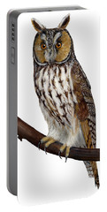 Northern Long-eared Owl Asio Otus - Hibou Moyen-duc - Buho Chico - Hornuggla - Nationalpark Eifel Portable Battery Charger