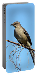 Northern Mockingbird Portable Battery Charger by Bruce J Robinson