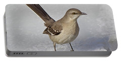 Northern Mockingbird Portable Battery Charger