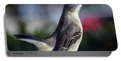 Northern Mockingbird Up Close Portable Battery Charger
