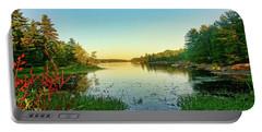 Northern Ontario Lake Portable Battery Charger