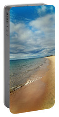 Portable Battery Charger featuring the photograph Northern Shore by Michelle Calkins