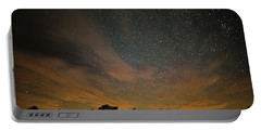 Northern Sky At Night Portable Battery Charger