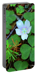 Northern Wood Sorrel Portable Battery Charger