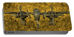 Northrop P-61 Black Widow Portable Battery Charger by Michael Cleere