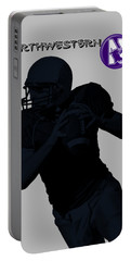 Northwestern Football Portable Battery Charger