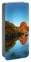 Northwood Lake Autumn Portable Battery Charger