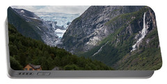 Norway Glacier Jostedalsbreen Portable Battery Charger