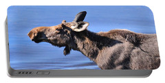 Nose First - Moose Portable Battery Charger